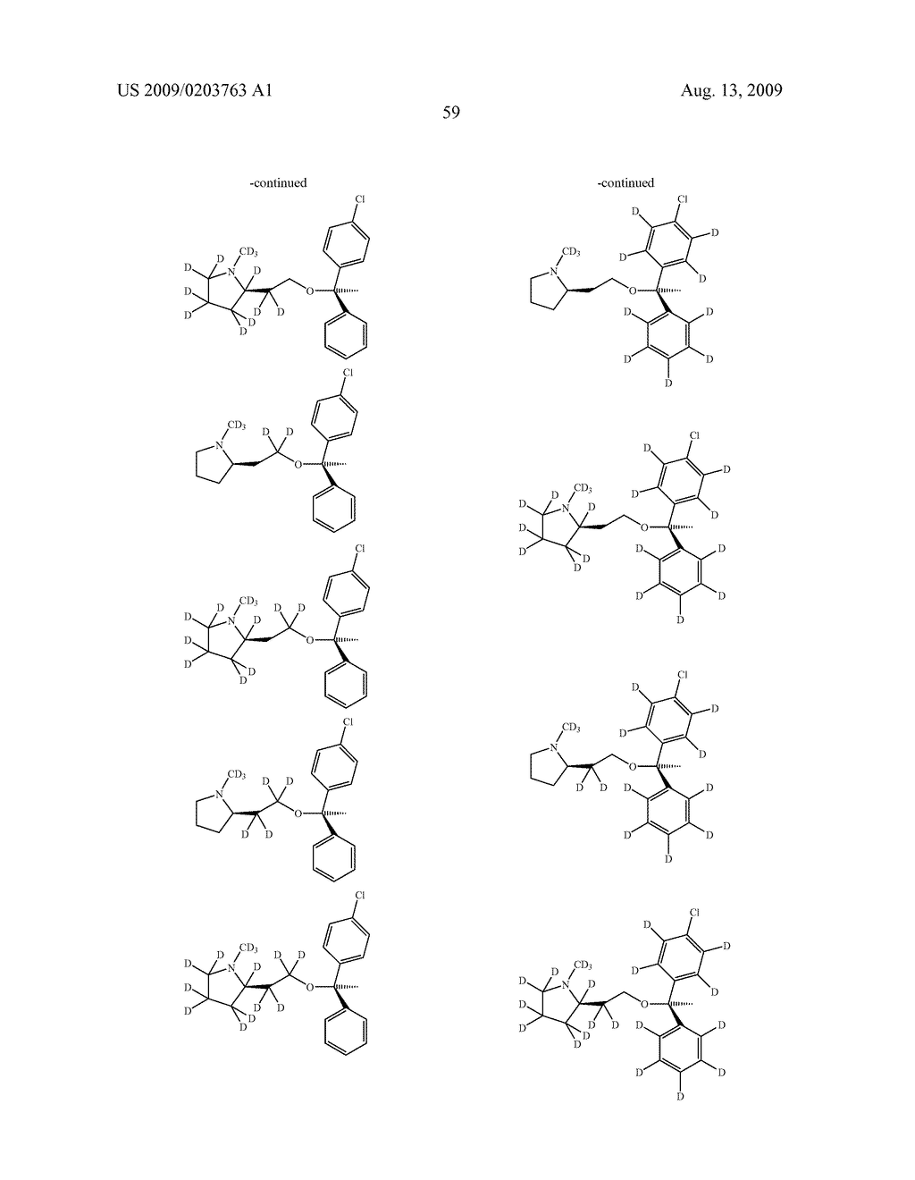 SUBSTITUTED BENZHYDRYLETHERS - diagram, schematic, and image 60
