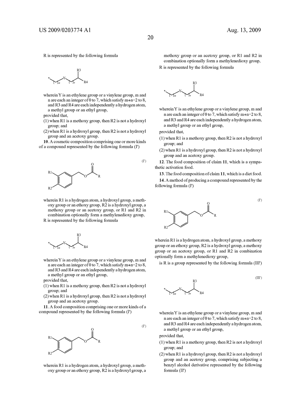 SUBSTITUTED BENZYL ESTER DERIVATIVE AND USE THEREOF - diagram, schematic, and image 21