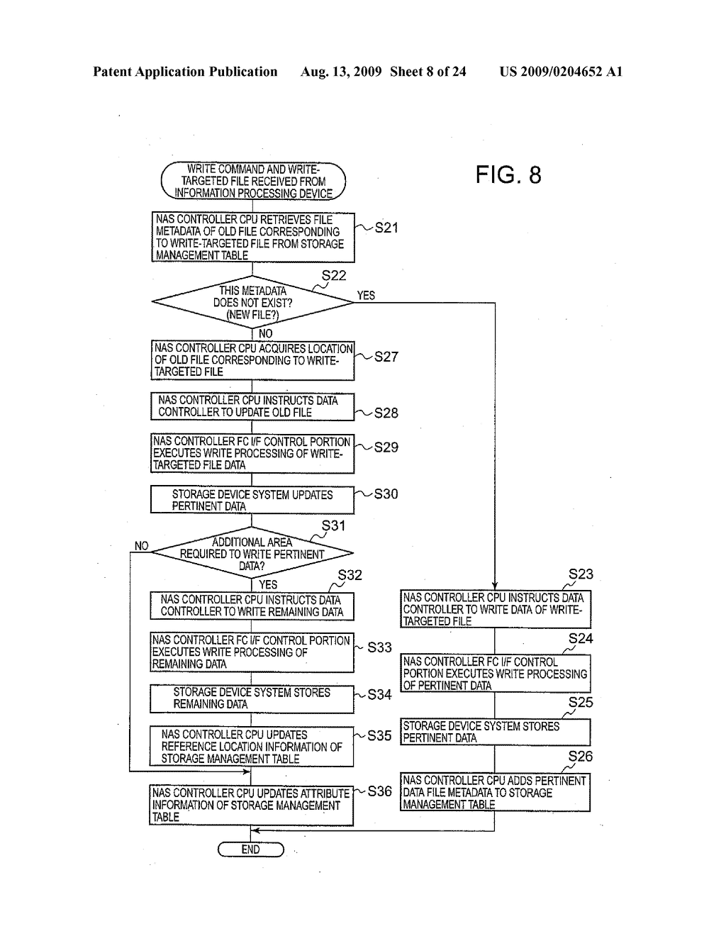 SYSTEM AND METHOD FOR CONTROLLING THE STORAGE OF REDUNDANT ELECTRONIC FILES TO INCREASE STORAGE RELIABILITY AND SPACE EFFICIENCY - diagram, schematic, and image 09