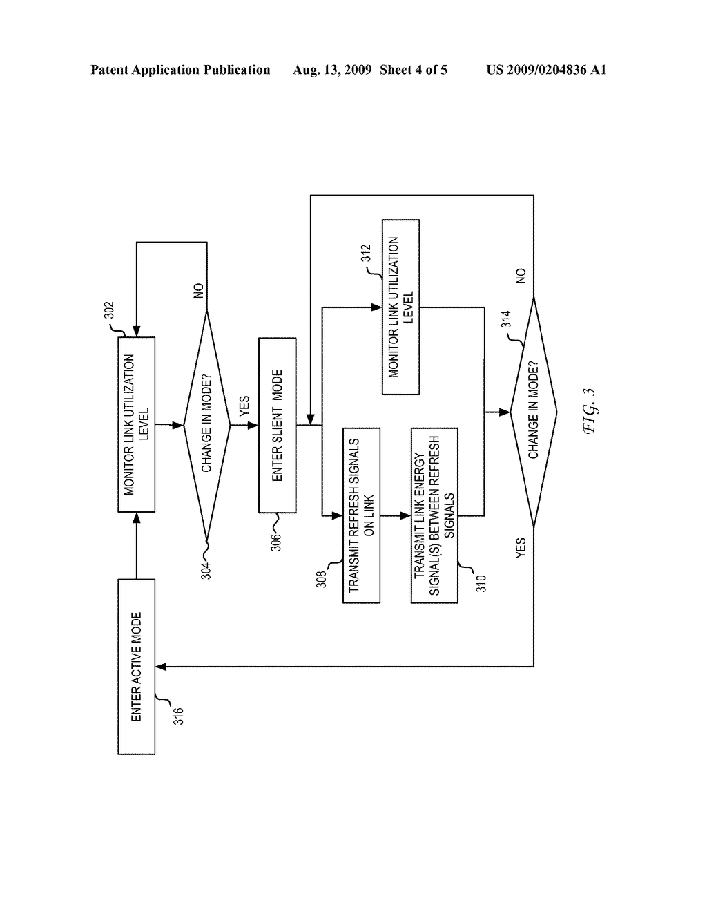 SYSTEM AND METHOD FOR USING A LINK ENERGY SIGNAL IN A PHYSICAL LAYER DEVICE HAVING A SILENT CHANNEL/INTERFACE IN ENERGY EFFICIENT ETHERNET - diagram, schematic, and image 05