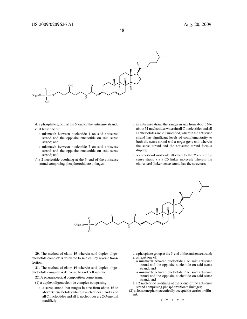 Duplex Oligonucleotides with Enhanced Functionality in Gene Regulation - diagram, schematic, and image 59
