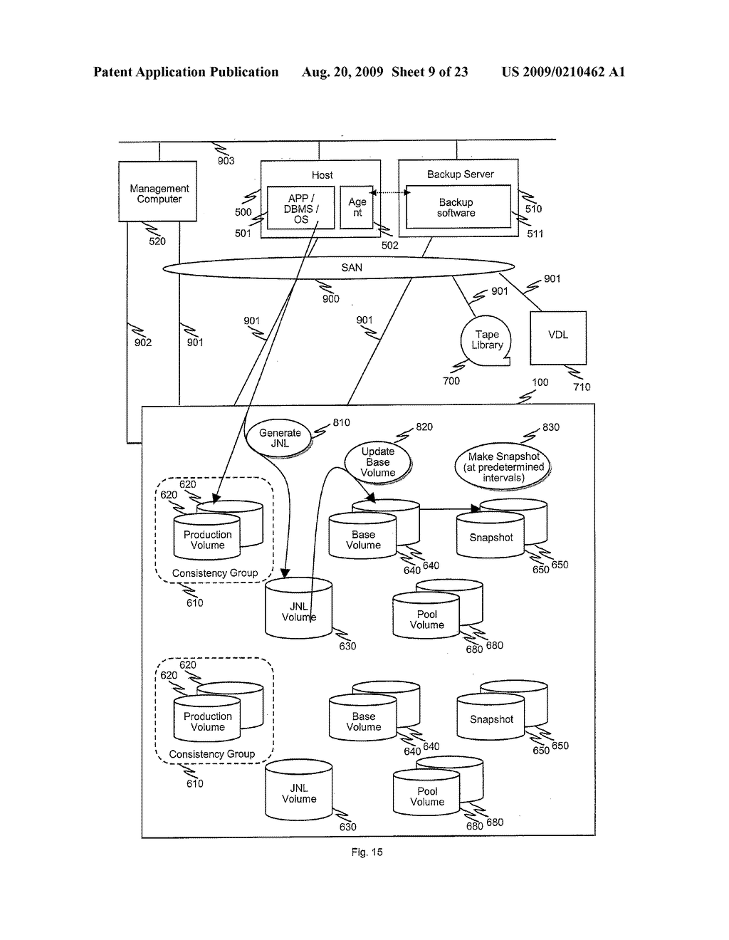 METHODS AND APPARATUS TO CONTROL TRANSITION OF BACKUP DATA - diagram, schematic, and image 10