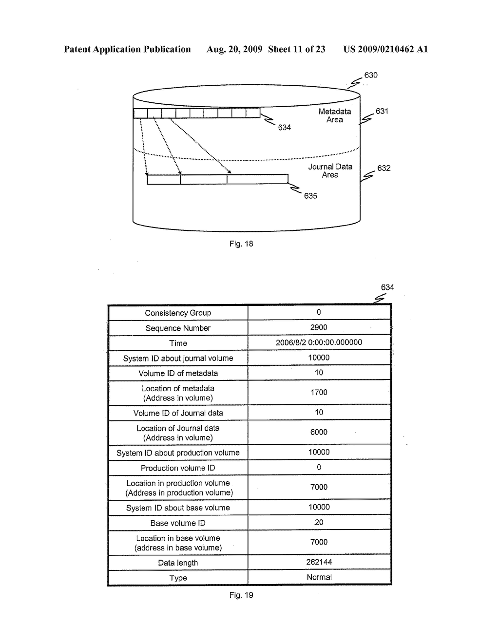 METHODS AND APPARATUS TO CONTROL TRANSITION OF BACKUP DATA - diagram, schematic, and image 12