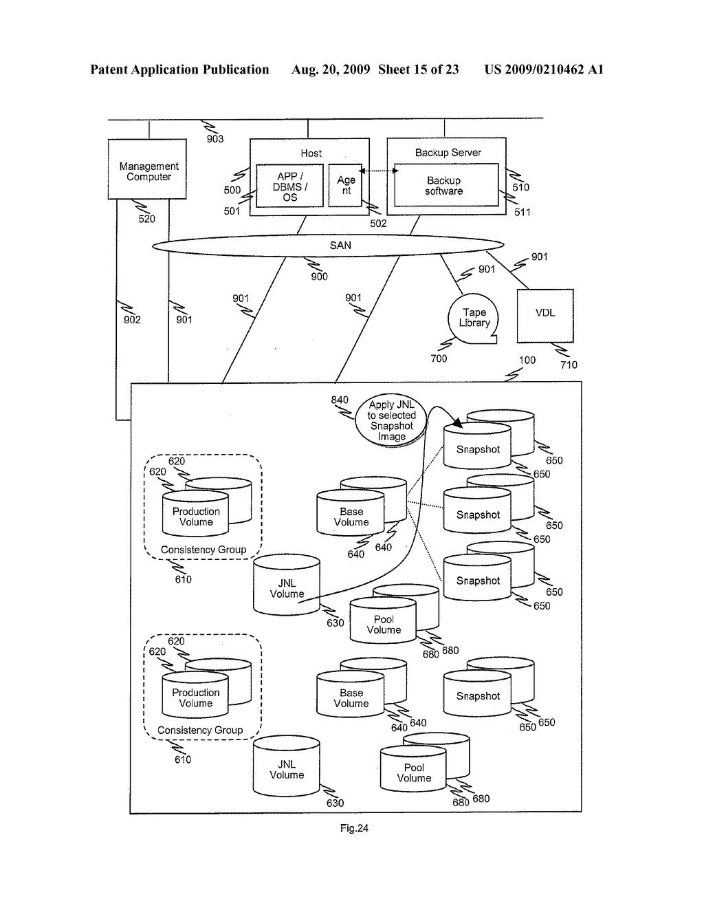 METHODS AND APPARATUS TO CONTROL TRANSITION OF BACKUP DATA - diagram, schematic, and image 16