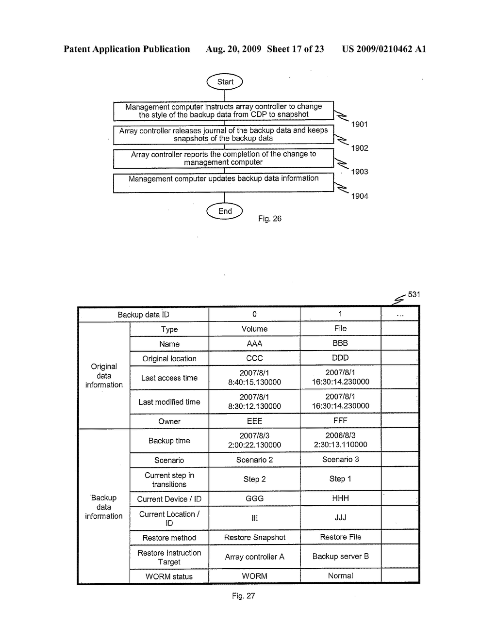 METHODS AND APPARATUS TO CONTROL TRANSITION OF BACKUP DATA - diagram, schematic, and image 18