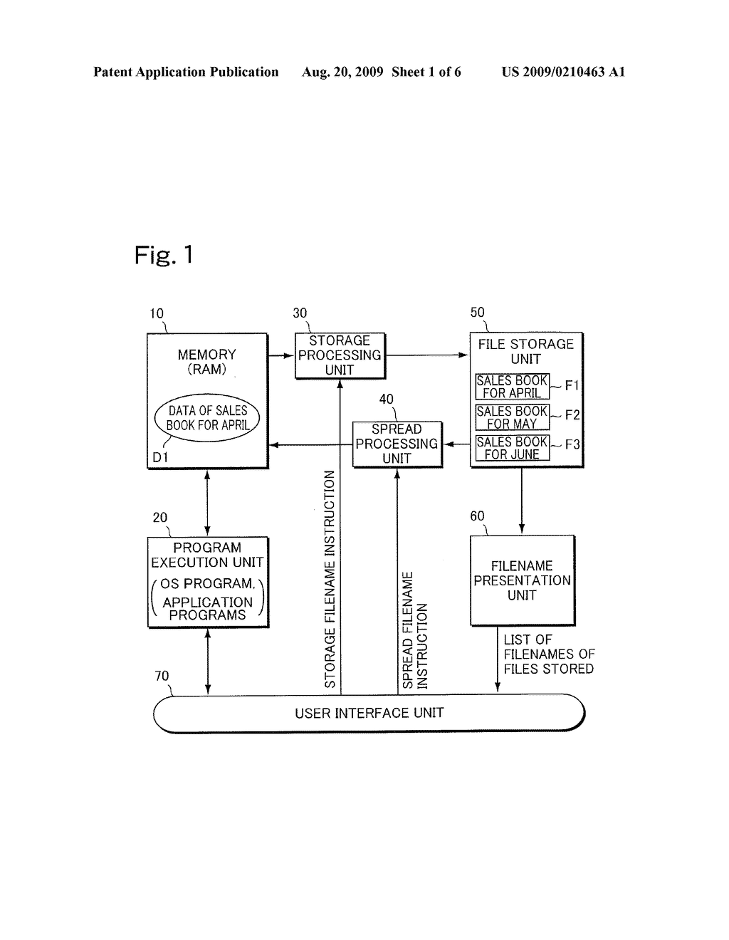 COMPUTER SYSTEM AND FILE STORAGE/READ-OUT METHOD - diagram, schematic, and image 02