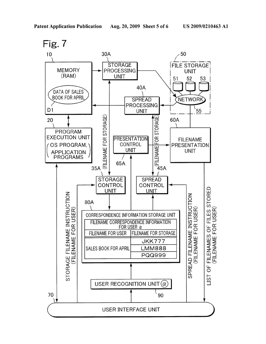 COMPUTER SYSTEM AND FILE STORAGE/READ-OUT METHOD - diagram, schematic, and image 06