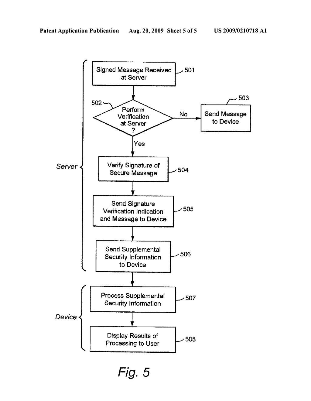 SYSTEM AND METHOD FOR UPDATING MESSAGE TRUST STATUS - diagram, schematic, and image 06