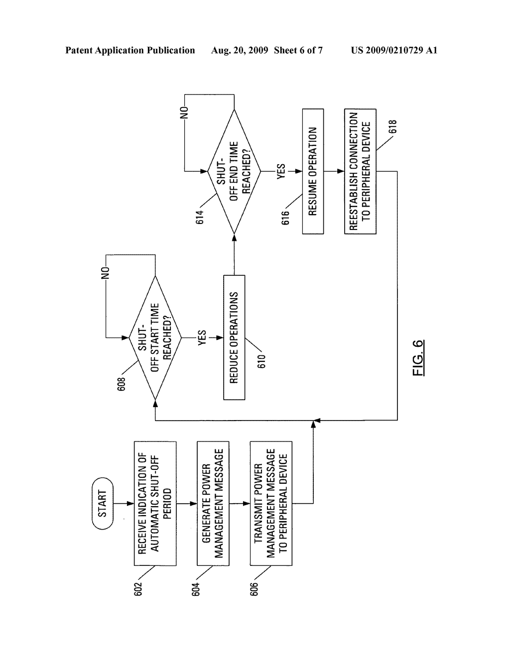 Automated Power Management of a Peripheral Device - diagram, schematic, and image 07