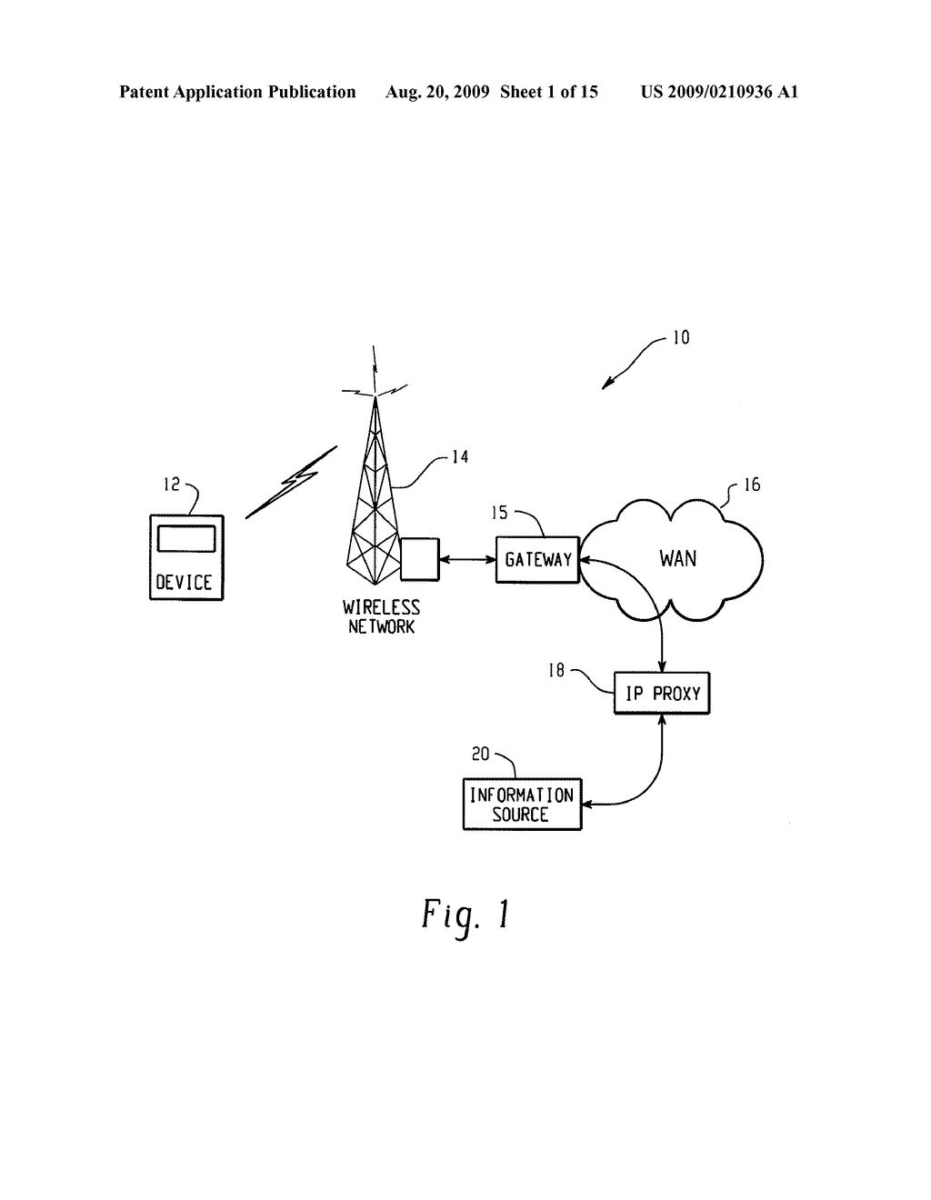 SYSTEM AND METHOD FOR PROVIDING REMOTE DATA ACCESS FOR A MOBILE COMMUNICATION DEVICE - diagram, schematic, and image 02