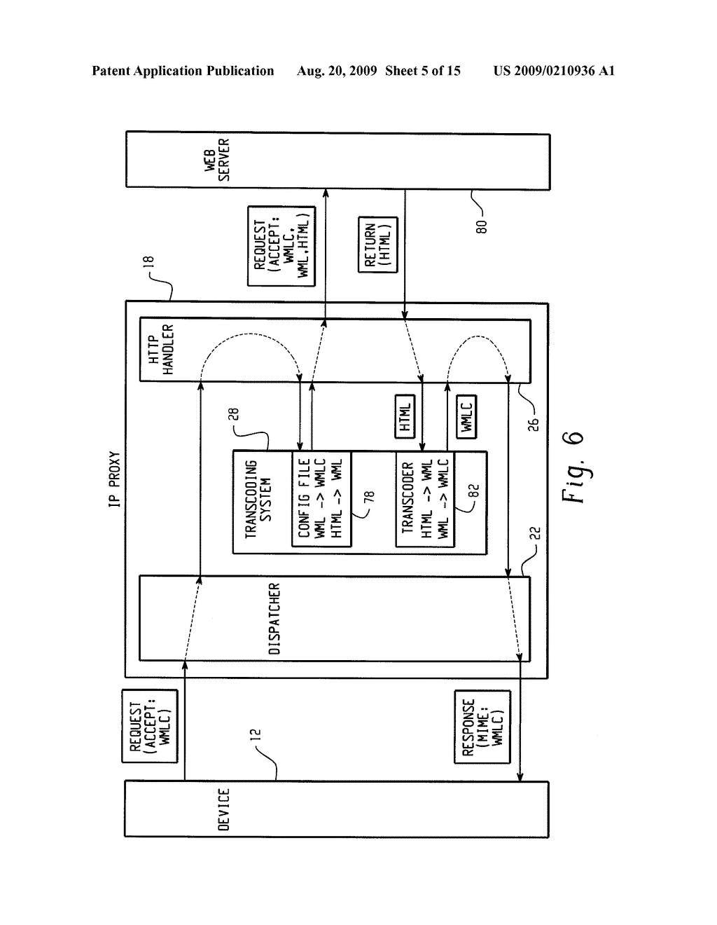 SYSTEM AND METHOD FOR PROVIDING REMOTE DATA ACCESS FOR A MOBILE COMMUNICATION DEVICE - diagram, schematic, and image 06
