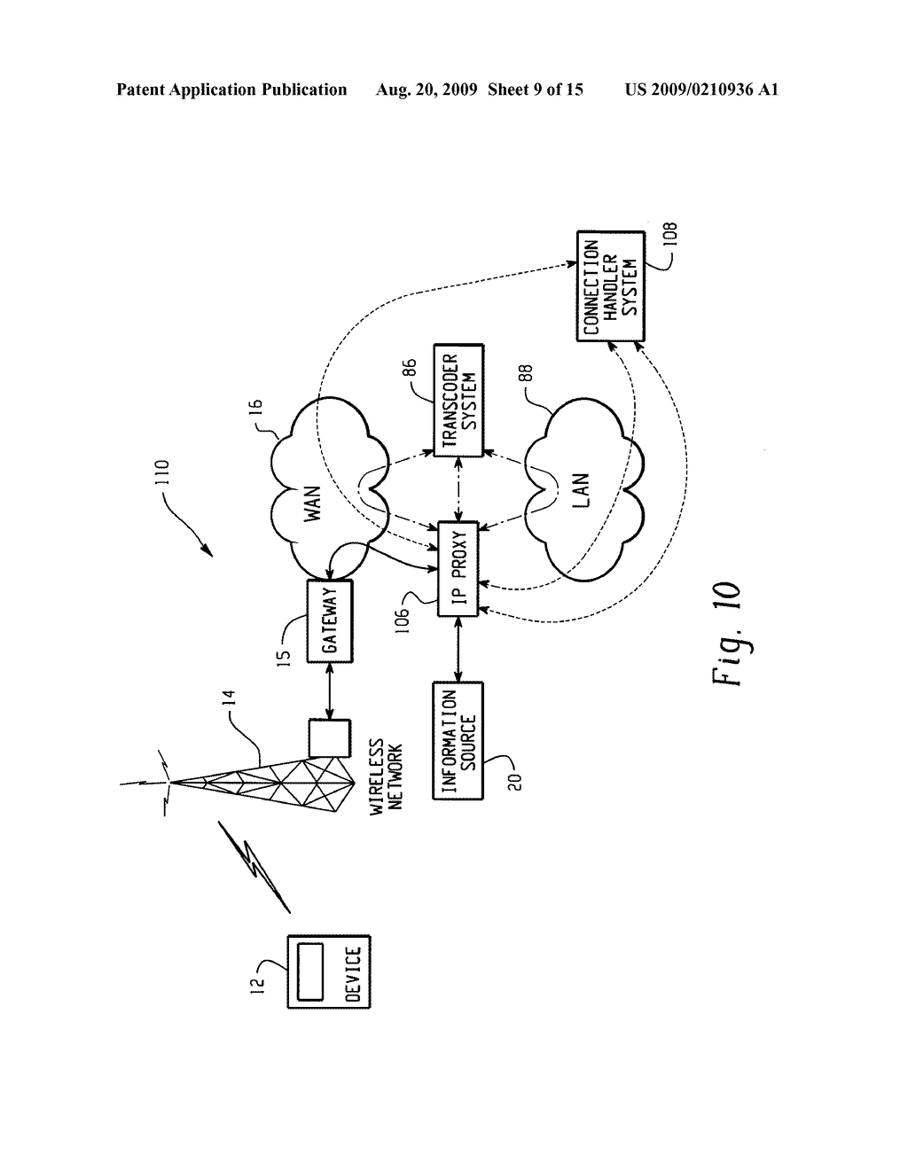 SYSTEM AND METHOD FOR PROVIDING REMOTE DATA ACCESS FOR A MOBILE COMMUNICATION DEVICE - diagram, schematic, and image 10