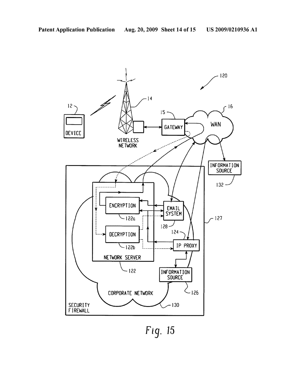 SYSTEM AND METHOD FOR PROVIDING REMOTE DATA ACCESS FOR A MOBILE COMMUNICATION DEVICE - diagram, schematic, and image 15