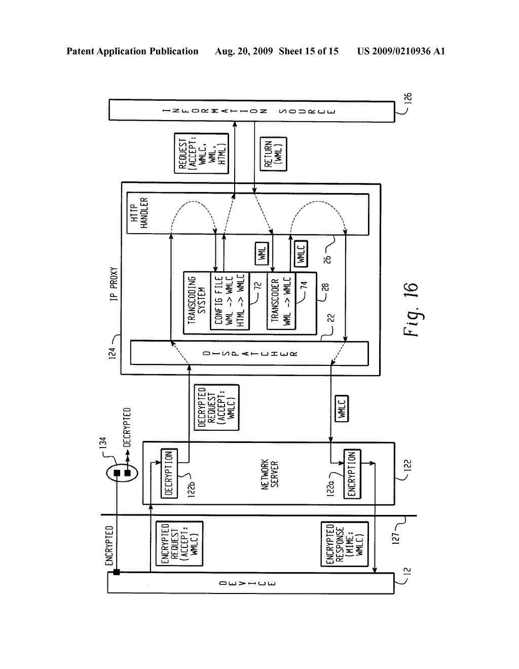 SYSTEM AND METHOD FOR PROVIDING REMOTE DATA ACCESS FOR A MOBILE COMMUNICATION DEVICE - diagram, schematic, and image 16