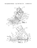 Excavator stump shearing device diagram and image