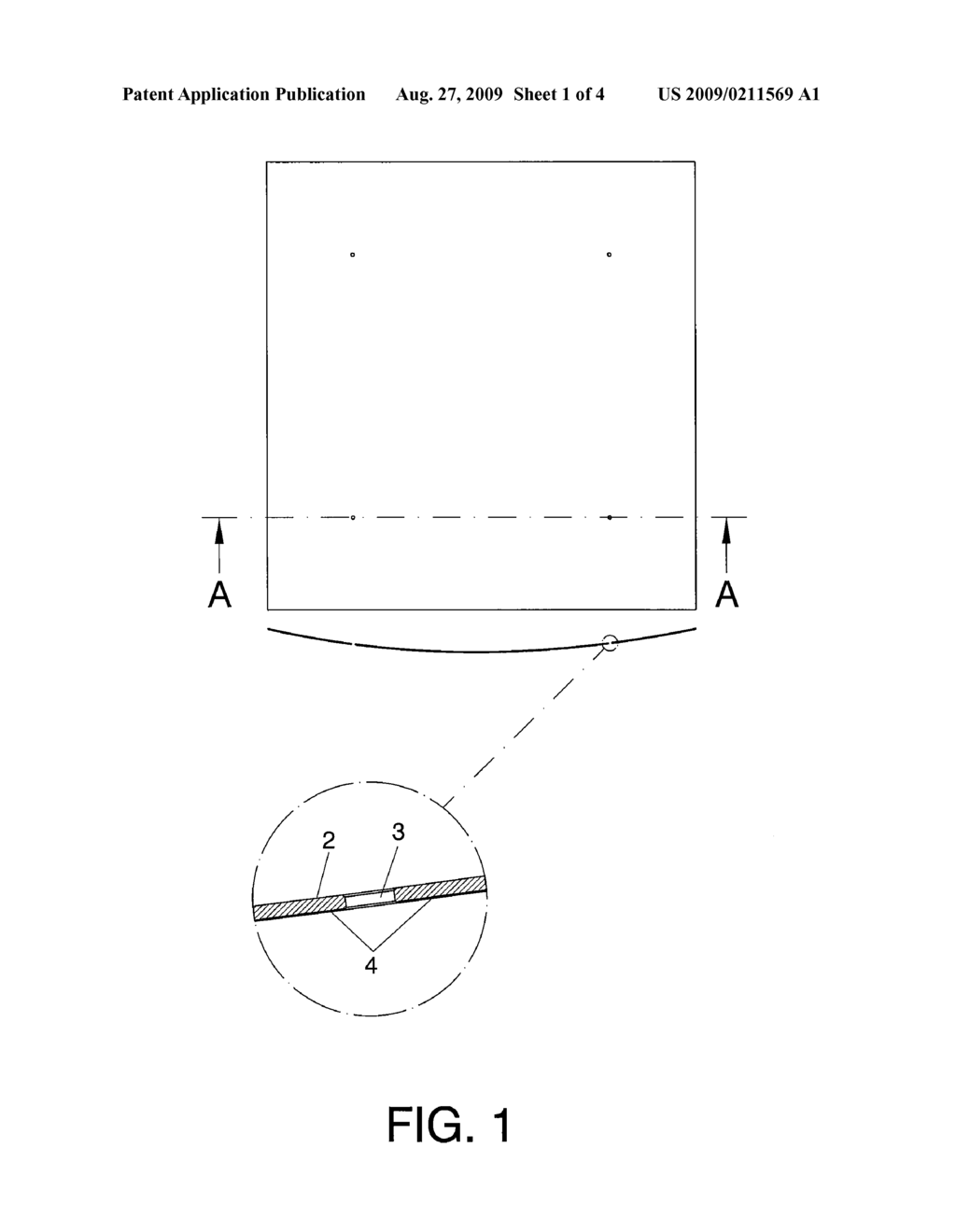 REFLECTOR ELEMENT FOR A SOLAR HEAT REFLECTOR AND THE METHOD FOR PRODUCING THE SAME - diagram, schematic, and image 02