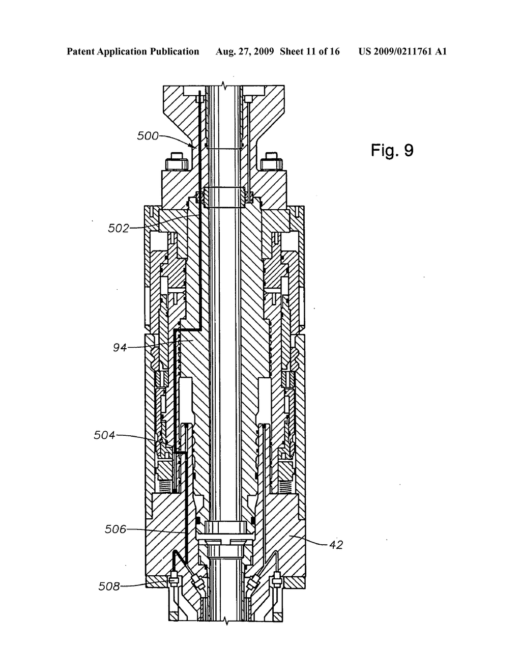 Oil and gas well completion system and method of