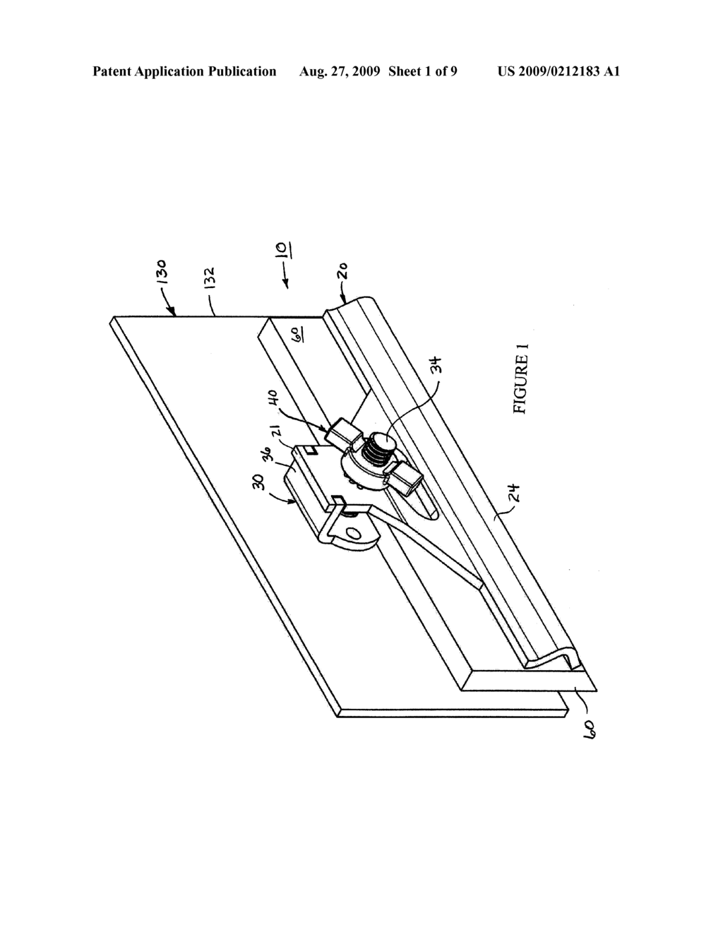 CLAMPING ARRANGEMENT FOR A CONVEYOR SEAL - diagram, schematic, and image 02