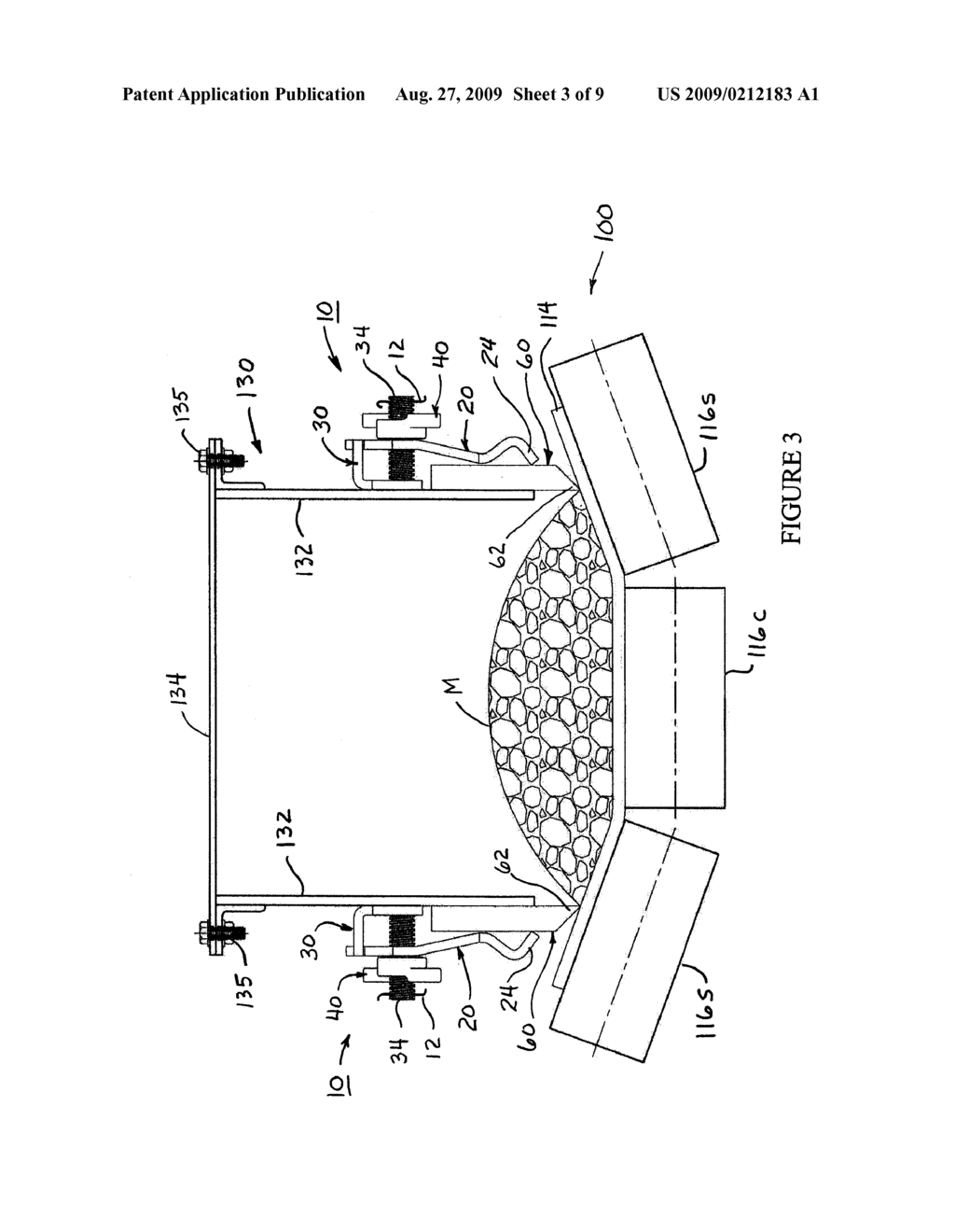 CLAMPING ARRANGEMENT FOR A CONVEYOR SEAL - diagram, schematic, and image 04