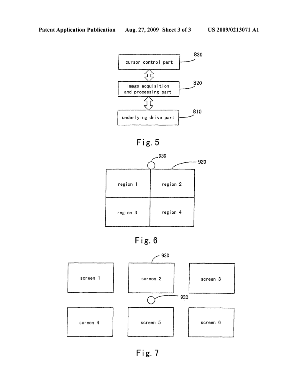 CONTROL SYSTEM AND METHOD FOR A CURSOR IN DISPLAY DEVICE - diagram, schematic, and image 04