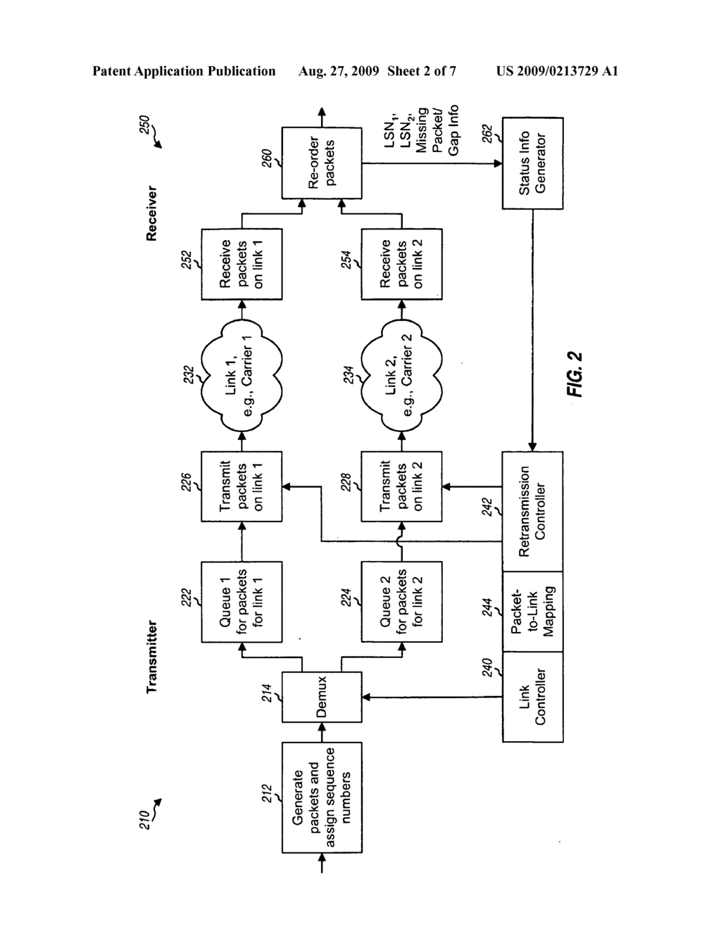 METHOD AND APPARATUS FOR LINK CONTROL IN A WIRELESS COMMUNICATION SYSTEM - diagram, schematic, and image 03
