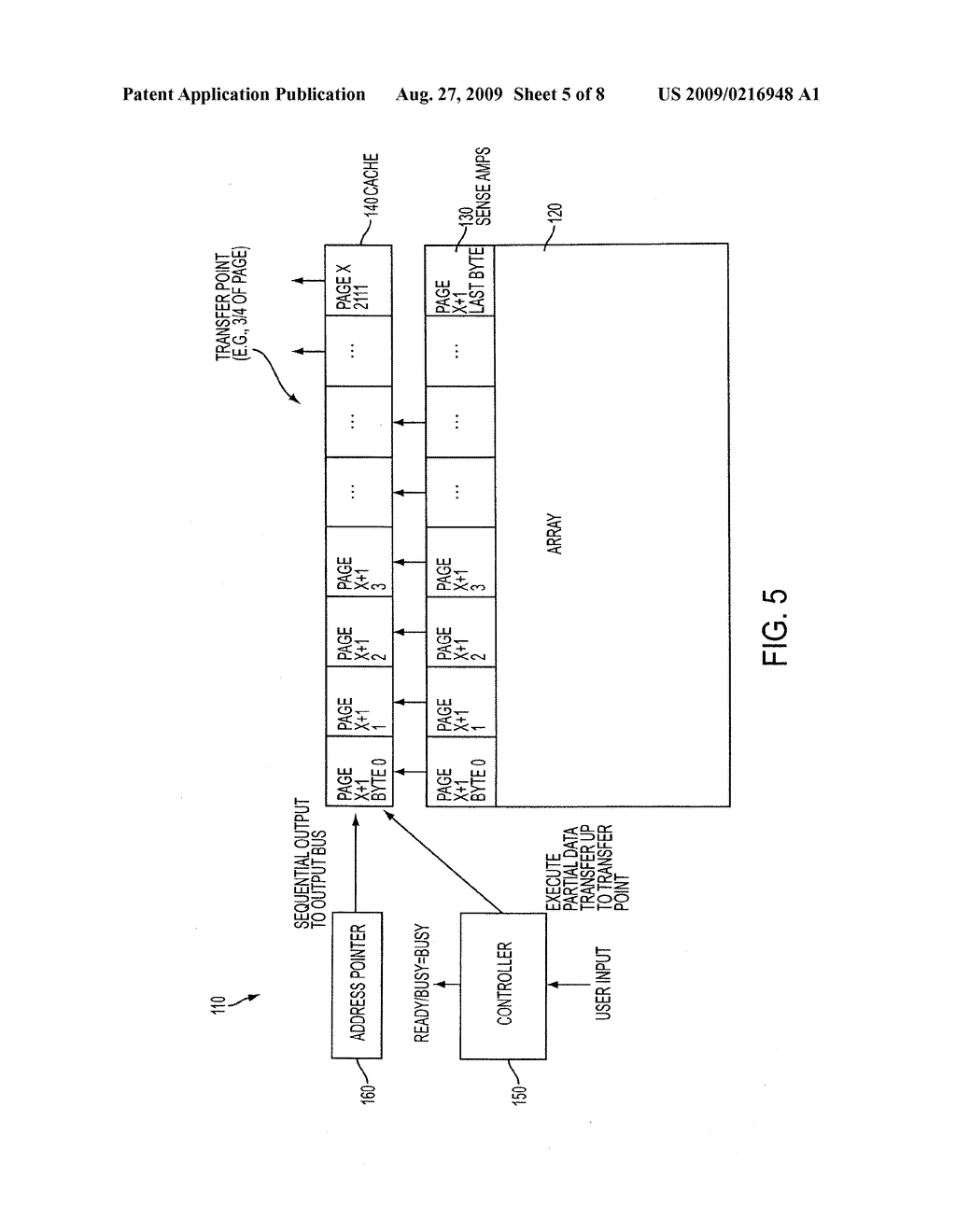 METHOD FOR SUBSTANTIALLY UNINTERRUPTED CACHE READOUT - diagram, schematic, and image 06