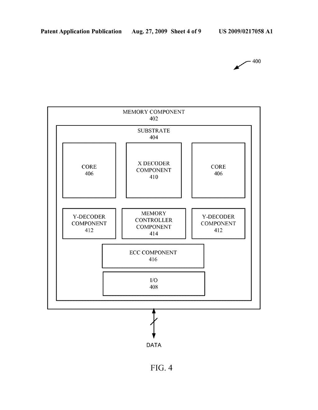 SECURE DATA TRANSFER AFTER AUTHENTICATION BETWEEN MEMORY AND A REQUESTER - diagram, schematic, and image 05