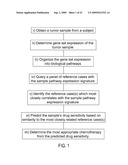 METHODS TO CORRECT GENE SET EXPRESSION PROFILES TO DRUG SENSITIVITY diagram and image