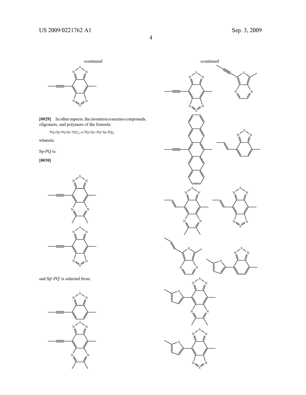 NOVEL CONJUGATED MATERIALS FEATURING PROQUINOIDAL UNITS - diagram, schematic, and image 19