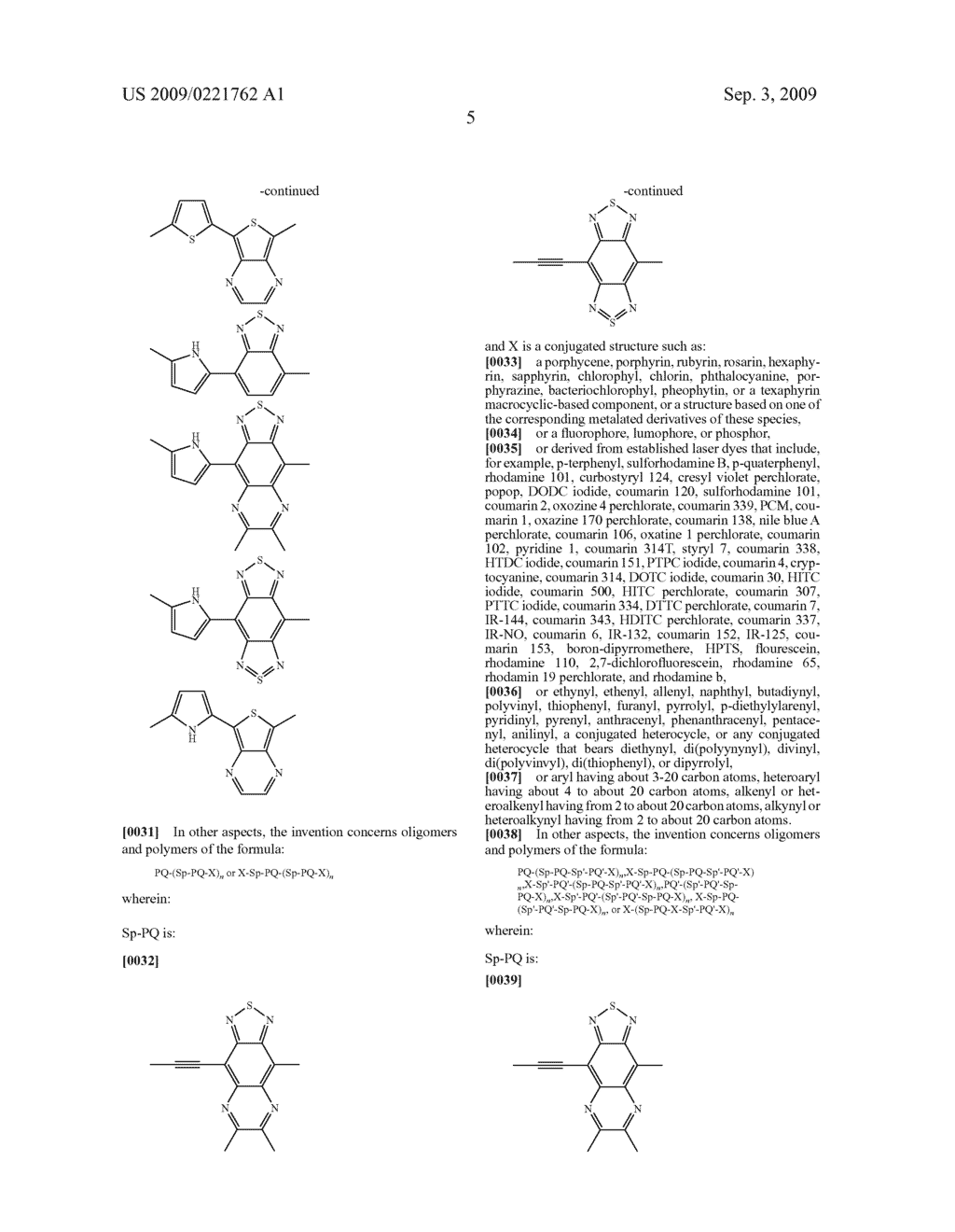 NOVEL CONJUGATED MATERIALS FEATURING PROQUINOIDAL UNITS - diagram, schematic, and image 20