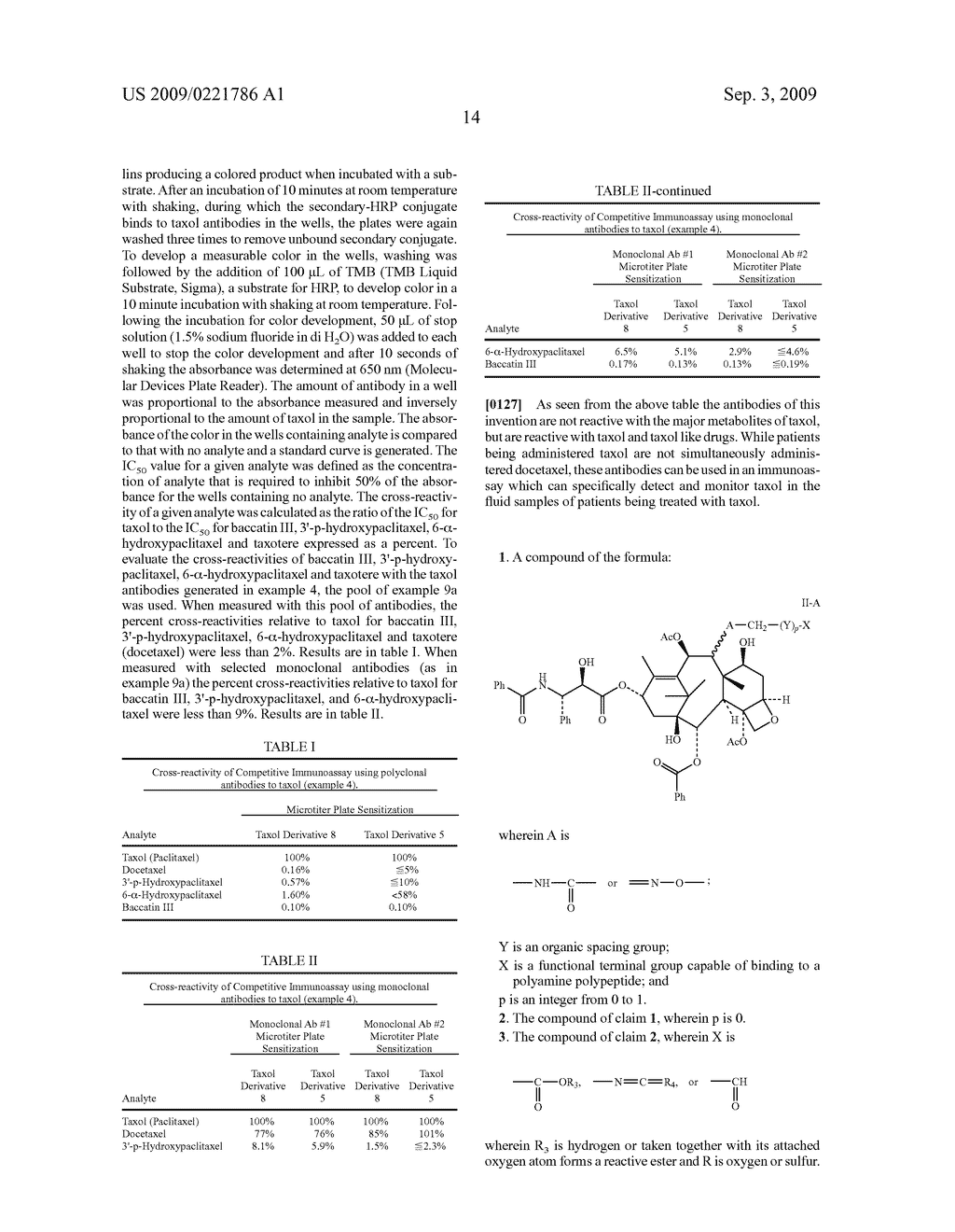 Taxol immunoassay - diagram, schematic, and image 15