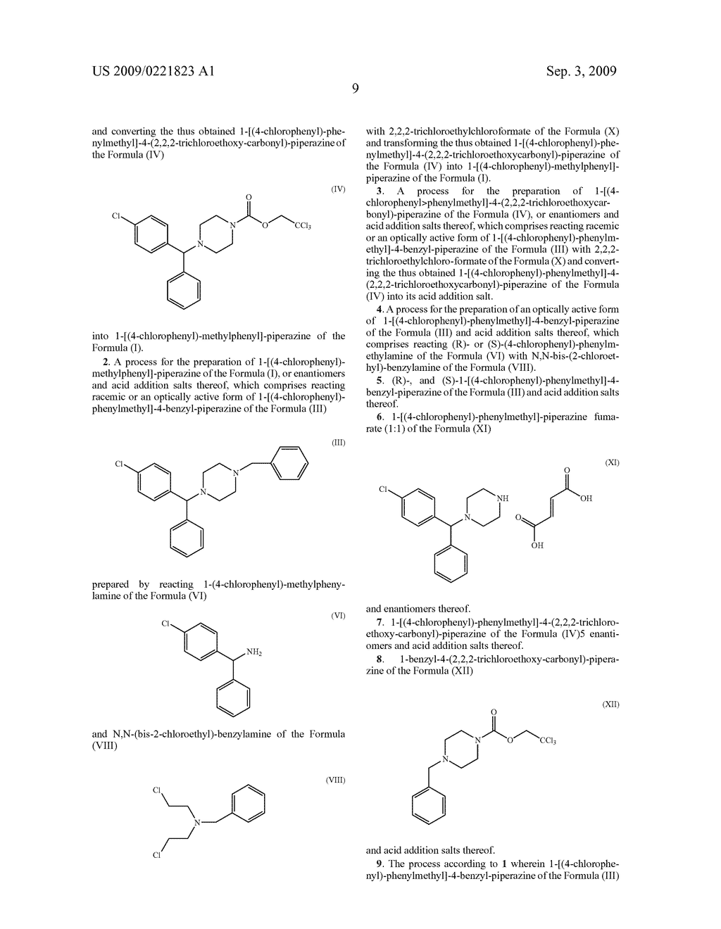 OPTICALLY ACTIVE CARBAMATES, PROCESS FOR PREPARATION THEREOF AND USE THEREOF AS PHARMACEUTICAL INTERMEDIATES - diagram, schematic, and image 10