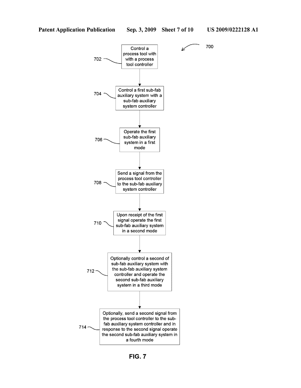 METHODS AND APPARATUS FOR OPERATING AN ELECTRONIC DEVICE MANUFACTURING SYSTEM - diagram, schematic, and image 08
