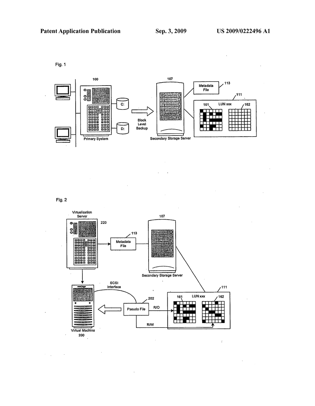 System and Method for Virtualizing Backup Images - diagram, schematic, and image 02
