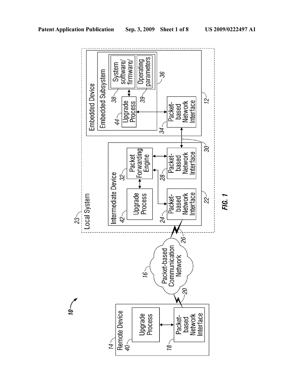METHOD, SYSTEM AND APPARATUS FOR REMOTE SOFTWARE UPGRADE OF AN EMBEDDED DEVICE - diagram, schematic, and image 02