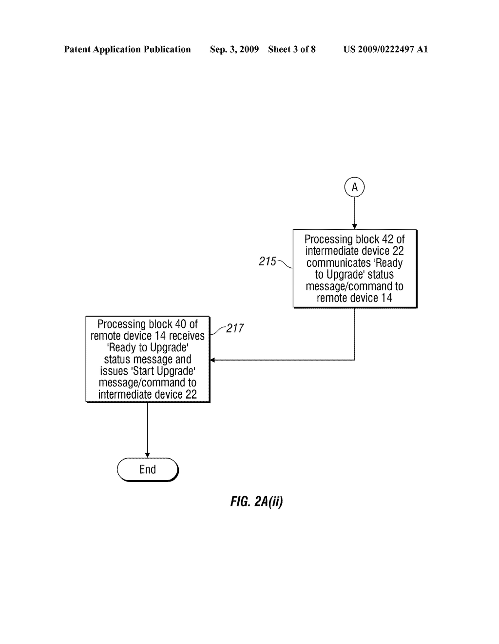METHOD, SYSTEM AND APPARATUS FOR REMOTE SOFTWARE UPGRADE OF AN EMBEDDED DEVICE - diagram, schematic, and image 04