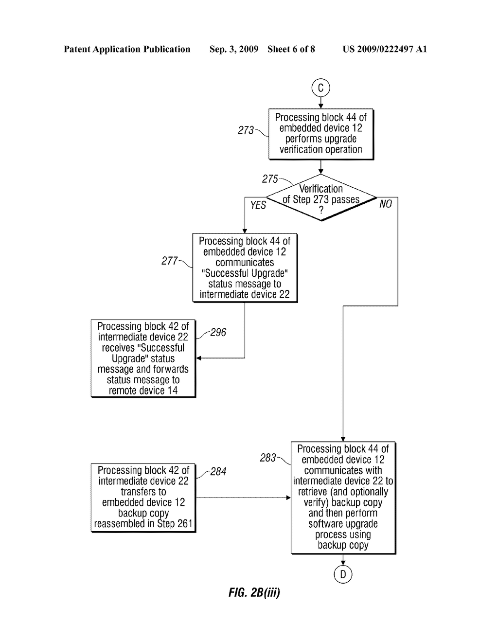 METHOD, SYSTEM AND APPARATUS FOR REMOTE SOFTWARE UPGRADE OF AN EMBEDDED DEVICE - diagram, schematic, and image 07