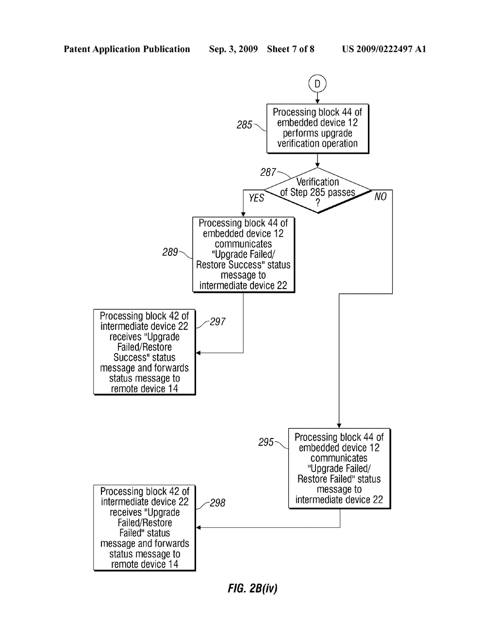 METHOD, SYSTEM AND APPARATUS FOR REMOTE SOFTWARE UPGRADE OF AN EMBEDDED DEVICE - diagram, schematic, and image 08
