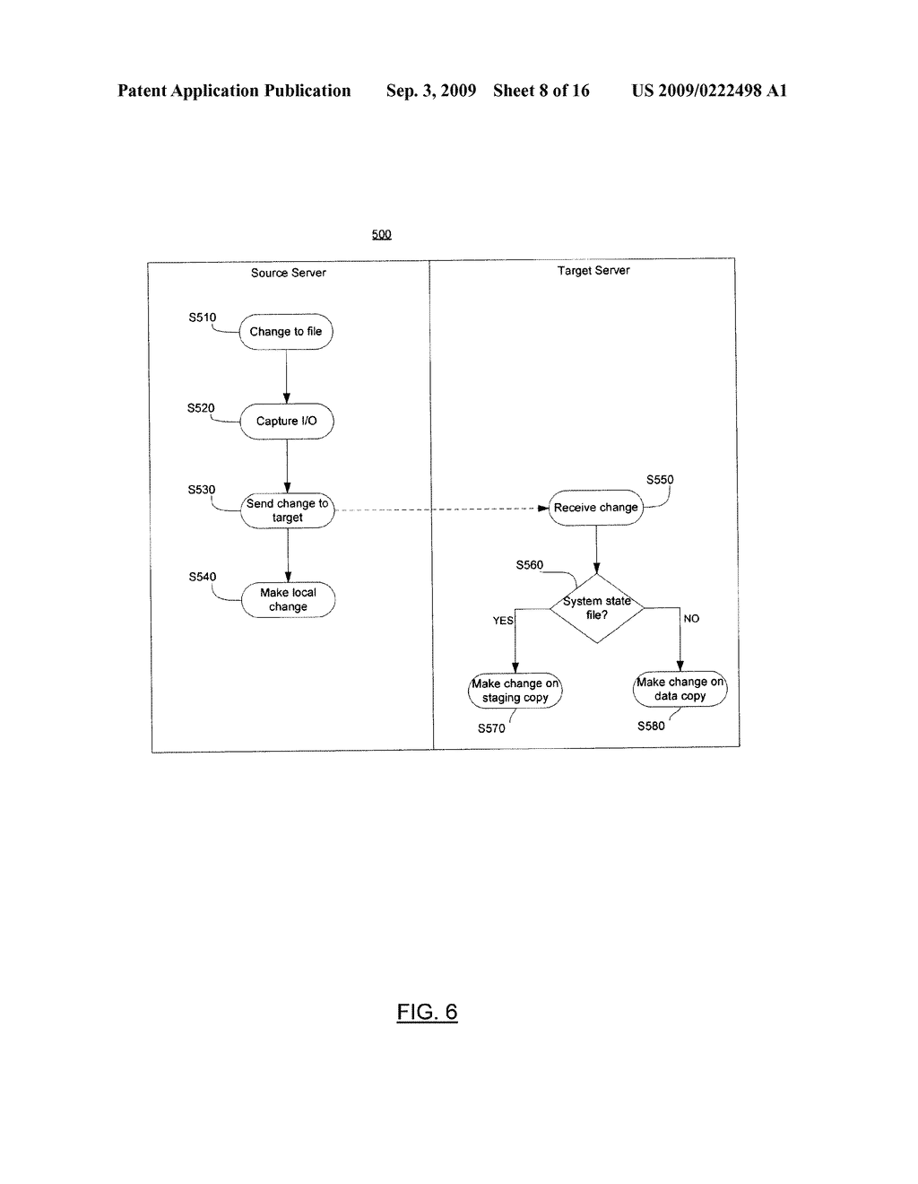SYSTEM AND METHOD FOR SYSTEM STATE REPLICATION - diagram, schematic, and image 09
