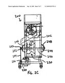POPCORN POPPING MACHINES AND ASSOCIATED METHODS OF MANUFACTURE AND USE diagram and image