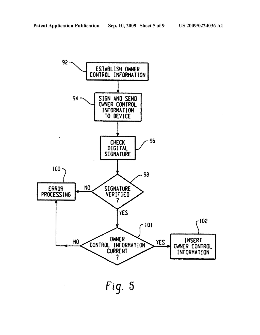 System And Method Of Operation Control On An Electronic Device - diagram, schematic, and image 06