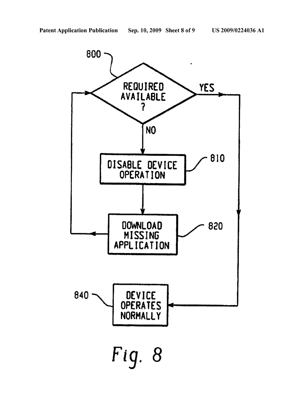 System And Method Of Operation Control On An Electronic Device - diagram, schematic, and image 09