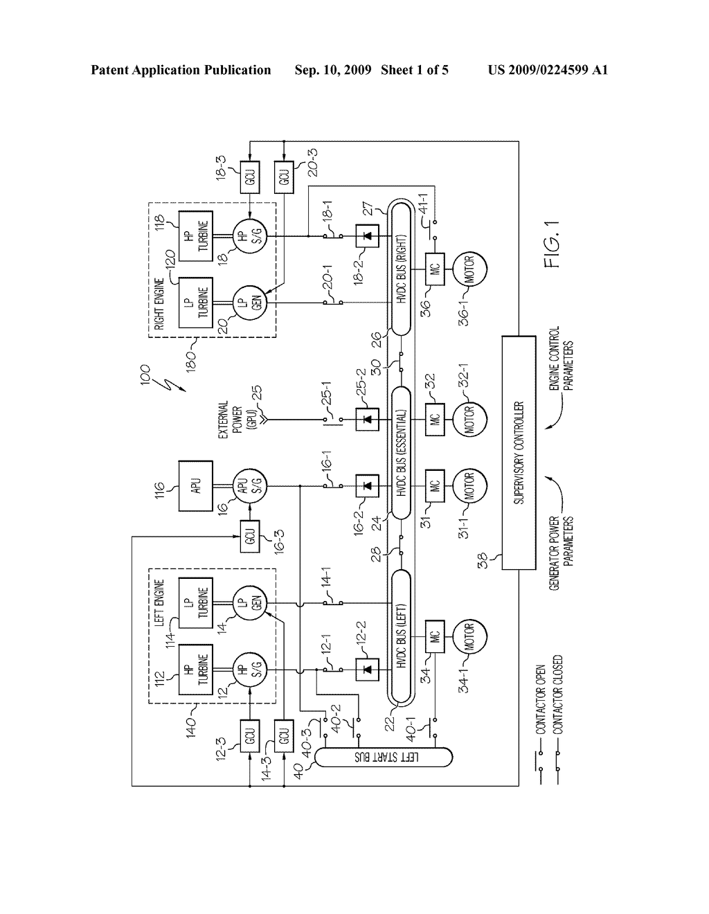 Paralleled Hvdc Bus Electrical Power System Architecture Diagram Schematic And Image 02