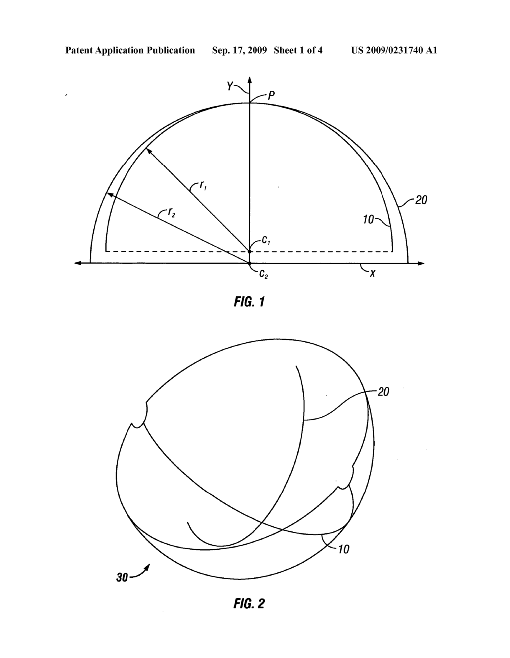 Multi curvature convex mirror having an enhanced field of vision multi curvature convex mirror having an enhanced field of vision diagram schematic and image 02 pooptronica