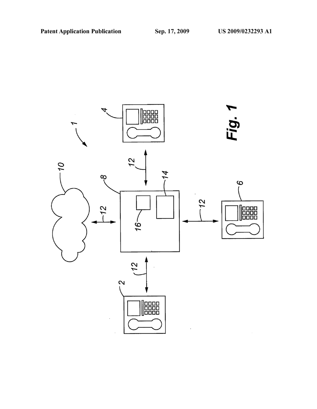 METHOD FOR OPERATING A TELEPHONE SYSTEM WITH AT LEAST TWO TELEPHONY TERMINALS AND A TELEPHONY TERMINAL FOR CARRYING OUT THE METHOD - diagram, schematic, and image 02