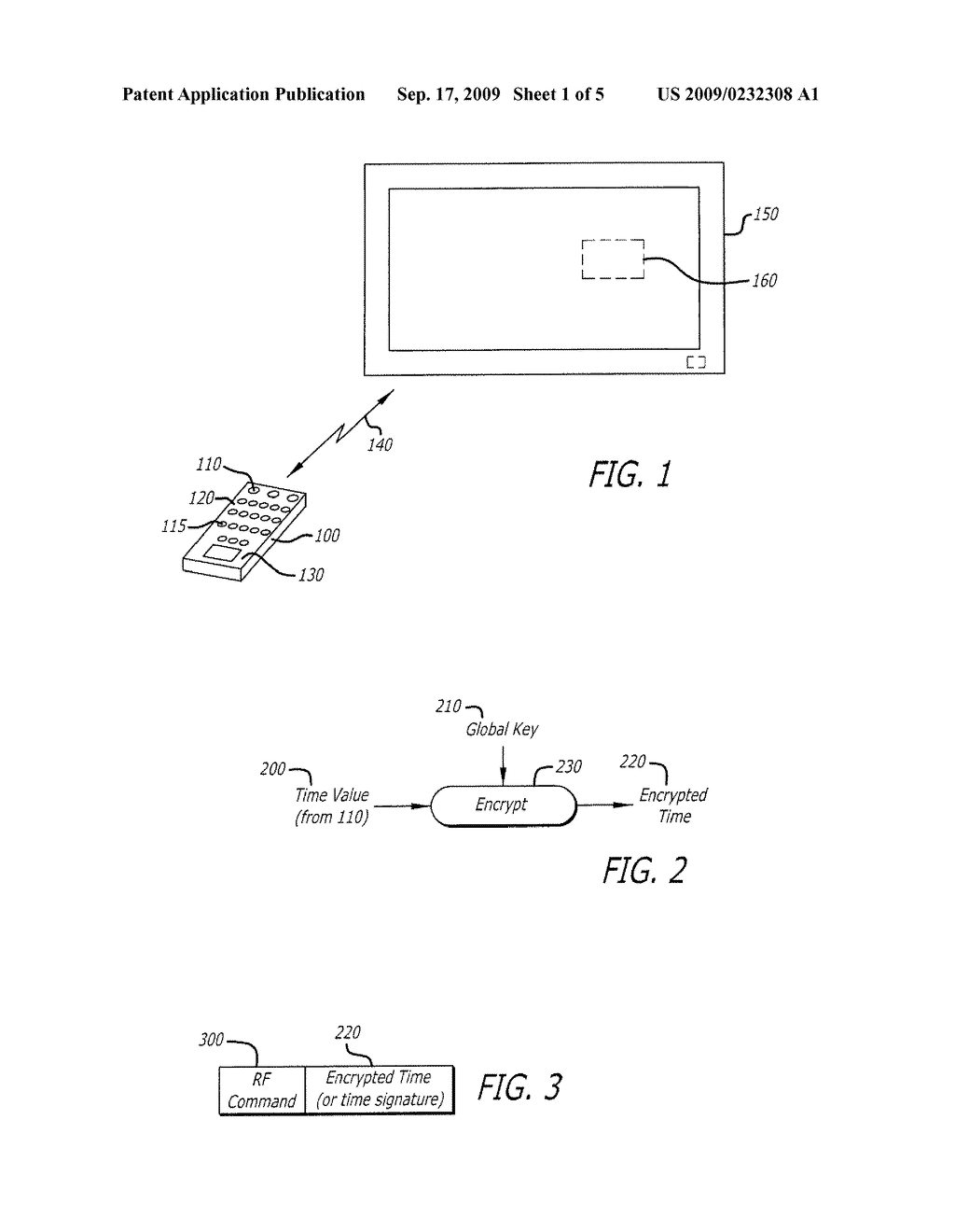 SYSTEM AND METHOD FOR SCRAMBLING WIRELESS SIGNALS USING A SECURE TIME VALUE - diagram, schematic, and image 02