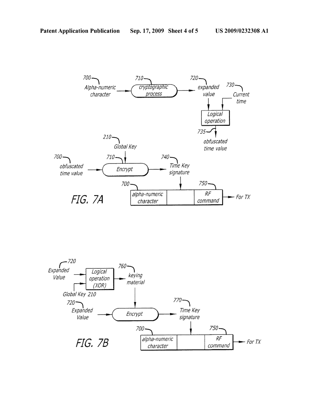 SYSTEM AND METHOD FOR SCRAMBLING WIRELESS SIGNALS USING A SECURE TIME VALUE - diagram, schematic, and image 05