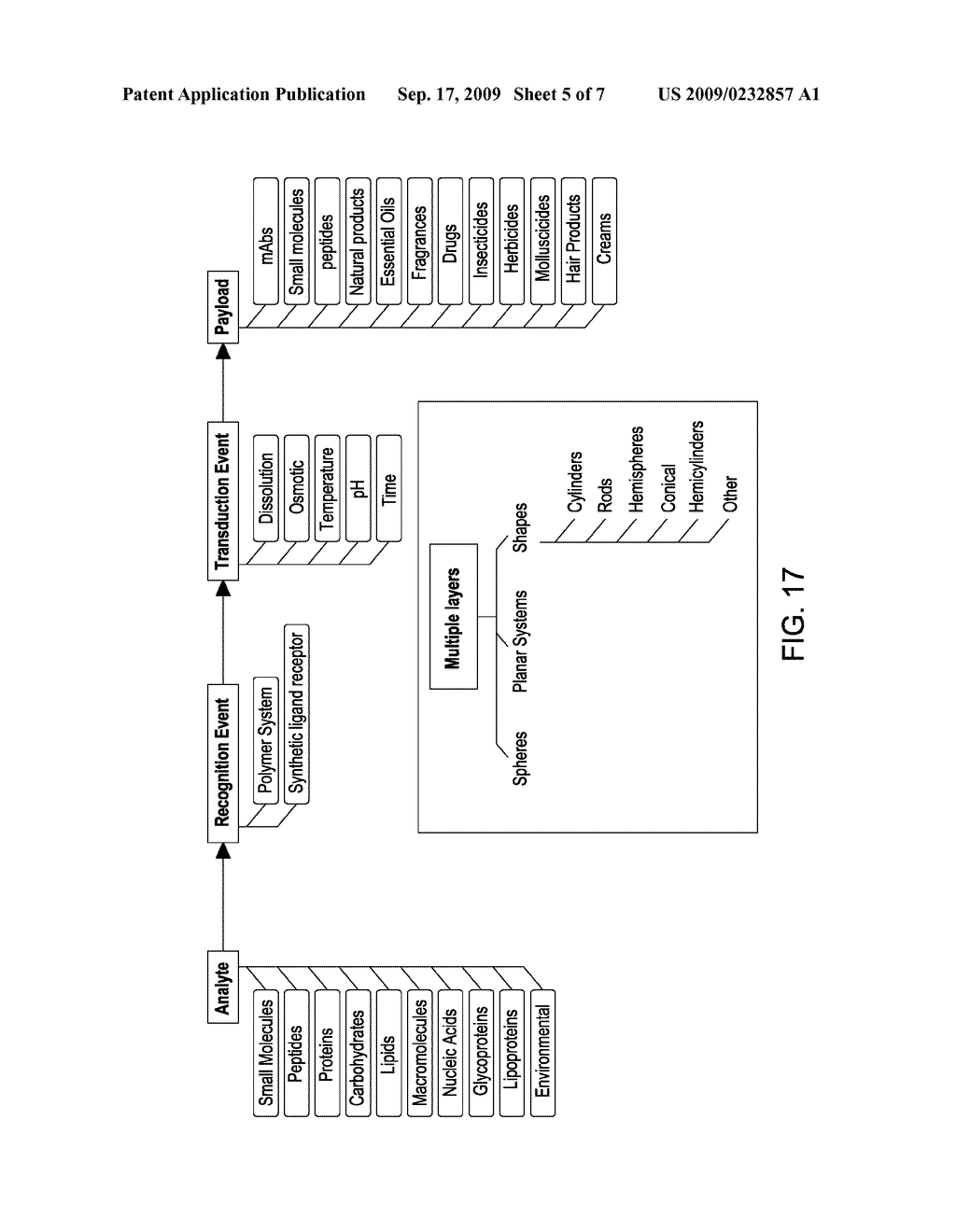 METHOD AND PROCESS FOR THE PRODUCTION OF MULTI-COATED RECOGNITIVE AND RELEASING SYSTEMS - diagram, schematic, and image 06