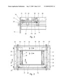 ADJUSTABLE CLAMPING TABLE FOR THERMOFORMING MACHINES diagram and image