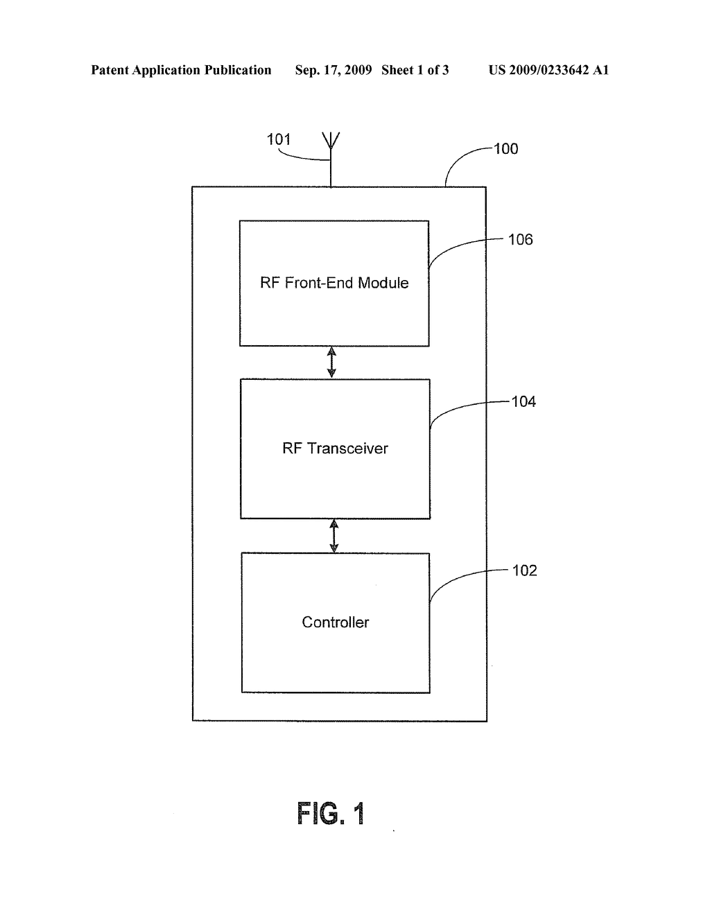 Multiple Band Radio Frequency Rf Circuit And Method For A Wireless Communication Diagram Device Schematic Image 02